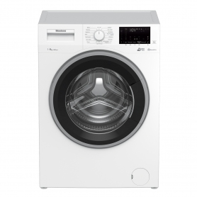 Blomberg 9kg 1400 Spin Washing Machine with Bluetooth Connection - White - 0