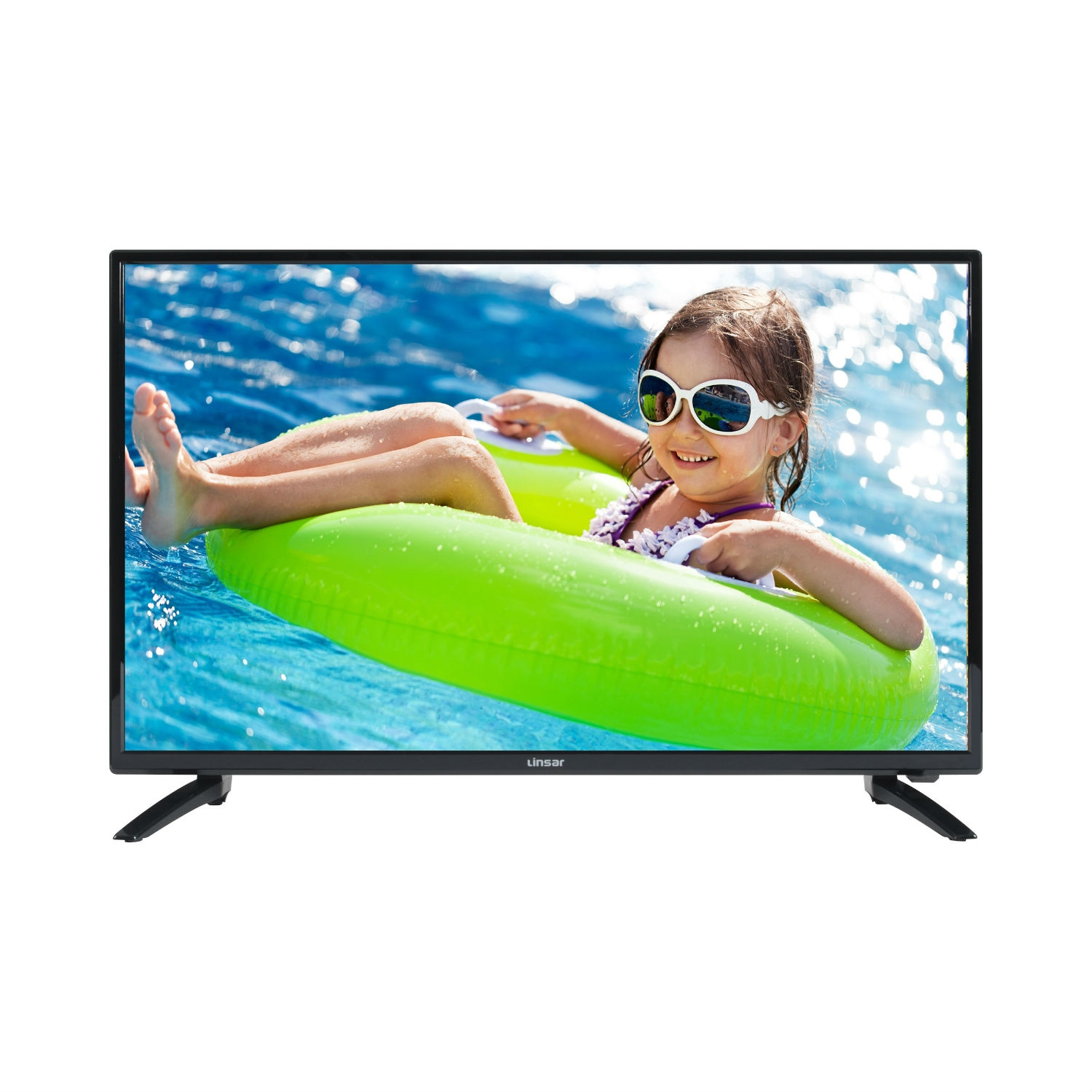 "Linsar 32"" HD Ready LED TV -Black - A+ Rated - 0"