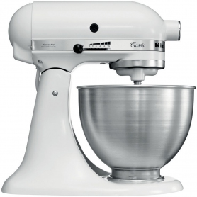 Kitchenaid 5K45SSBWHKIT Stand Mixer with 4.3 Litre Bowl - White