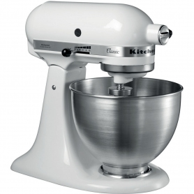 Kitchenaid 5K45SSBWHKIT Stand Mixer with 4.3 Litre Bowl - White - 3