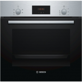 Bosch Serie 2 Built In Electric Single Oven with 3D Hot Air - Stainless Steel