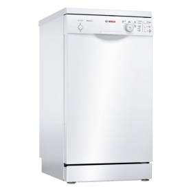 Bosch Slimline Dishwasher - White - A+ Rated