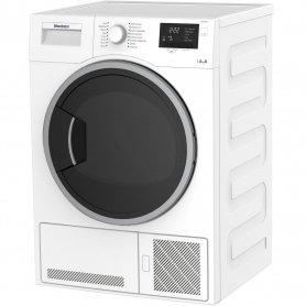 Blomberg 8kg Condenser Tumble Dryer - White - 2
