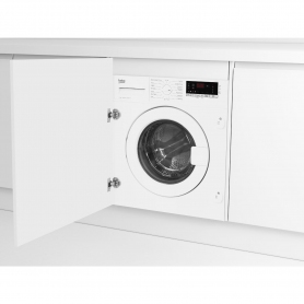 Beko Integrated 7kg 1400 Spin Washing Machine - White - A+++ Rated - 4