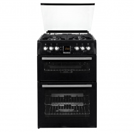 Blomberg 60cm Gas Cooker with Glass Lid - 0