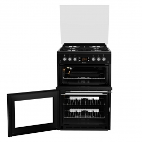 Blomberg 60cm Double Oven Gas Cooker - Black - 5