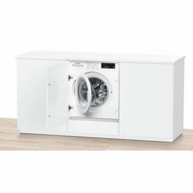 Bosch Integrated 8kg 1400 Spin Washing Machine - White - A+++ Rated - 2