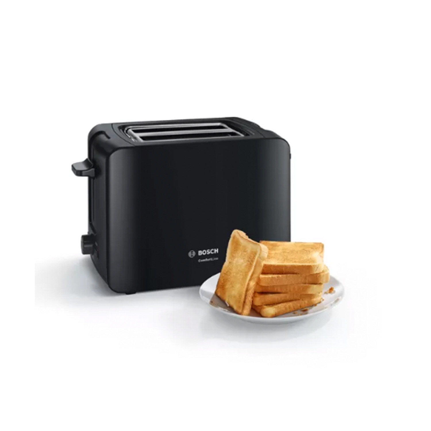 Bosch 2 Slice Toaster - Black - 0