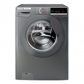 Hoover 8kg 1500 Spin Washing Machine with NFC Connection - Graphite