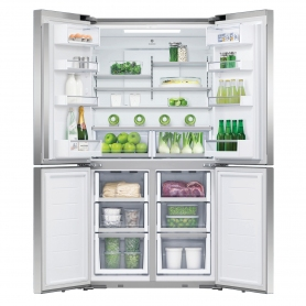 Fisher & Paykel Frost Free Multi Door Fridge Freezer - Stainless Steel - A+ Energy Rated - 2