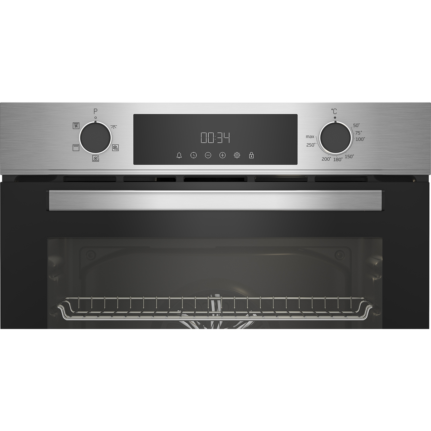 Beko CIFY81X AeroPerfect™ Built In Electric Single Oven - Stainless Steel - 3