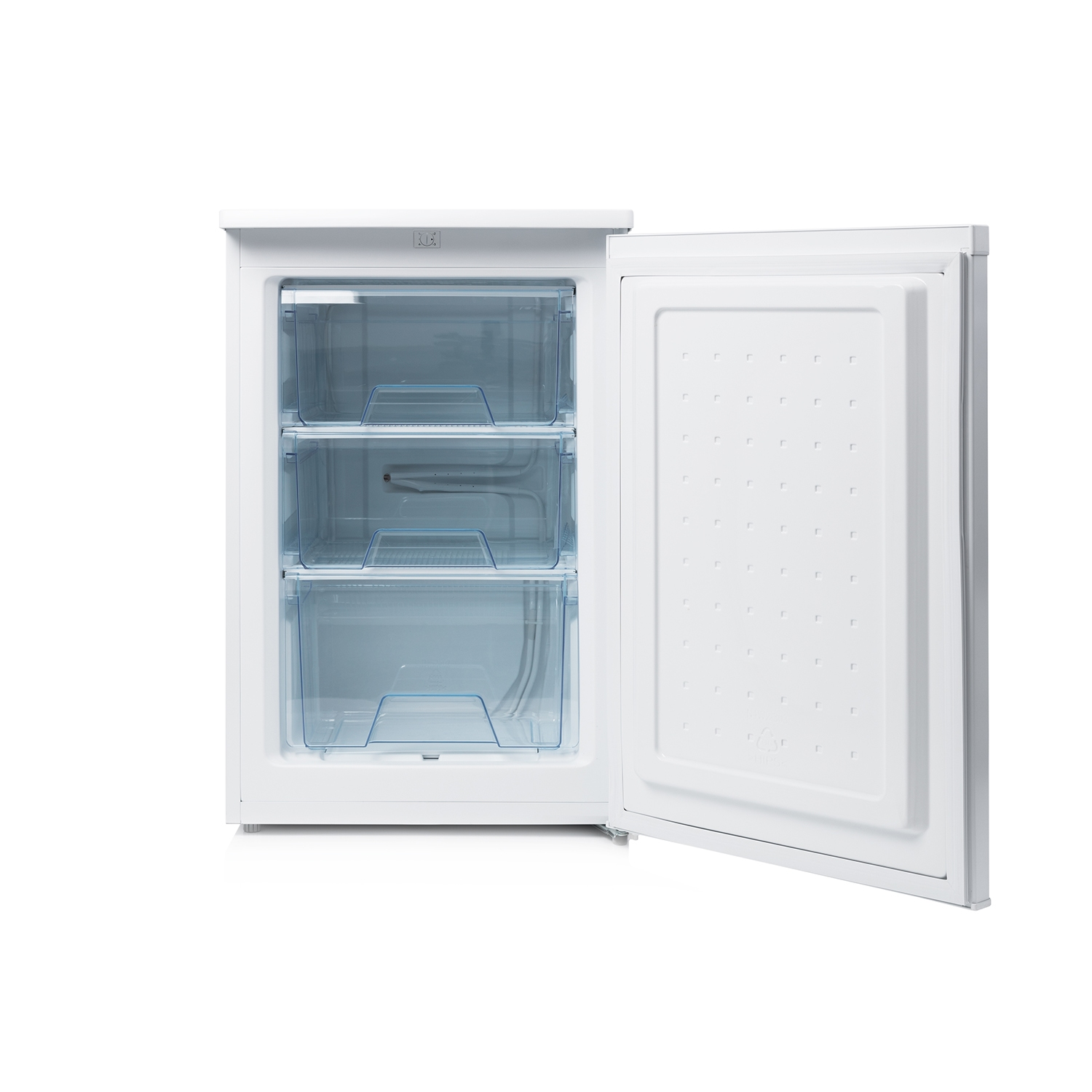 Haden 55cm static undercounter Freezer - White - A+ Energy Rated - 1