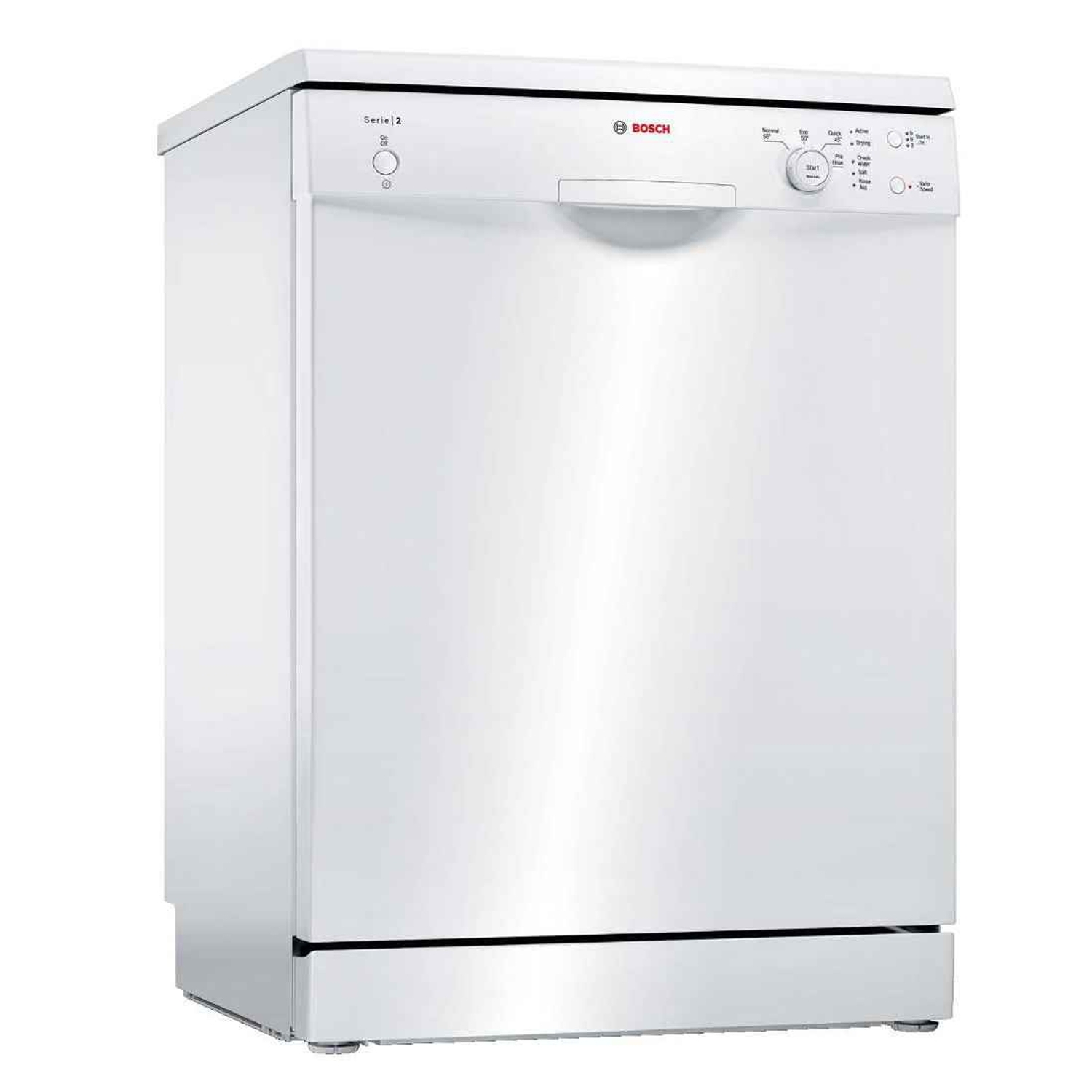 Bosch SMS24AW01G Full Size Dishwasher - White - 12 Place Settings - 0