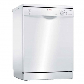 Bosch Full Size Dishwasher - White - 12 Place Settings
