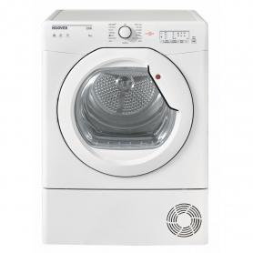 Hoover 8kg Condenser Tumble Dryer - White - B Rated - 0