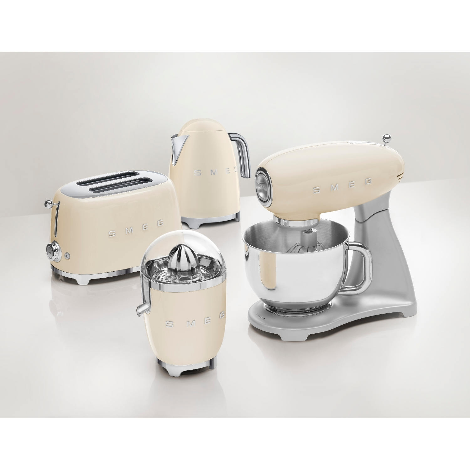 Smeg 2 Slice Toaster - Cream - 4