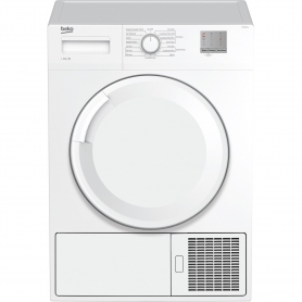 Beko 8kg Condenser Tumble Dryer - White - B Rated