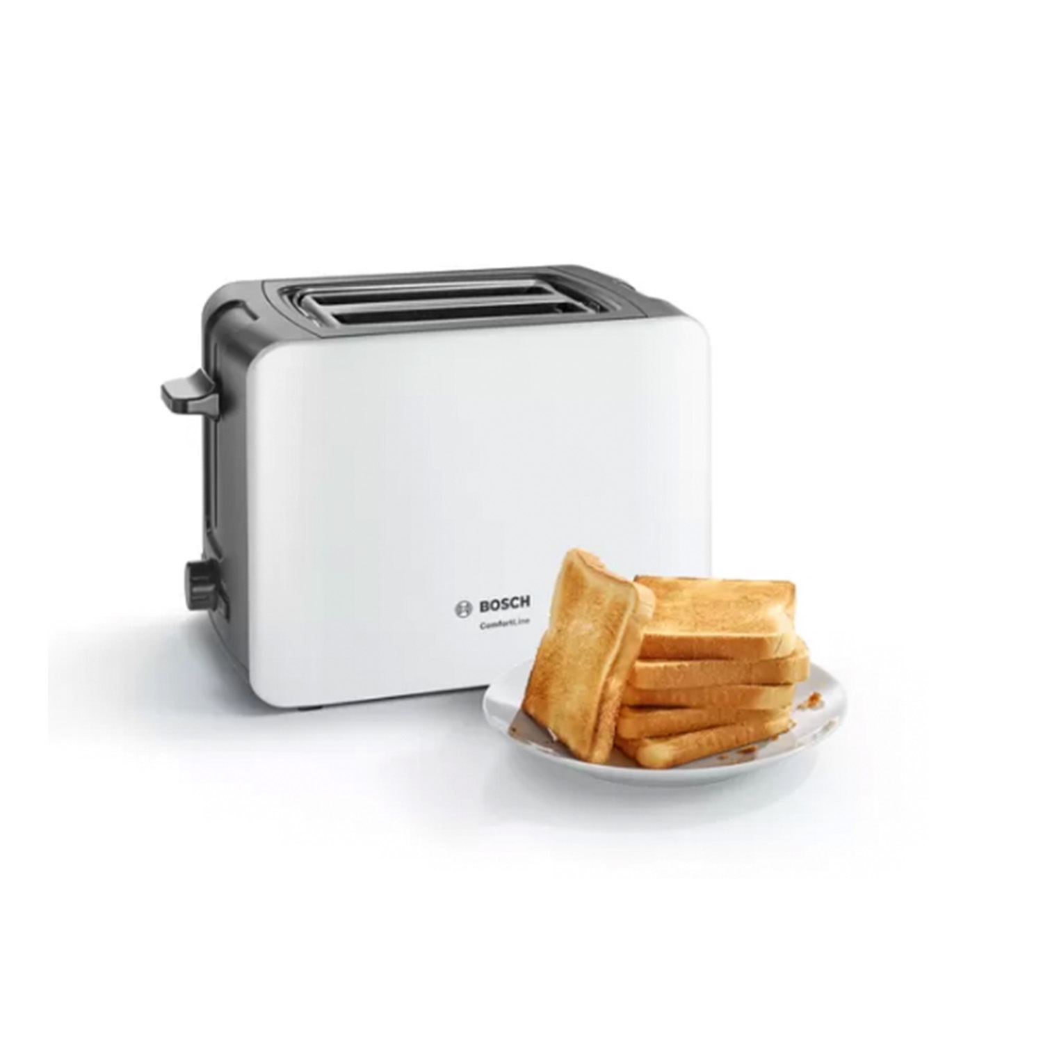 Bosch 2 Slice Toaster - White - 0