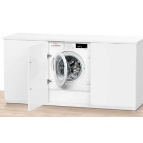 Bosch Integrated 8kg 1400 Spin Washing Machine with VarioPerfect - White