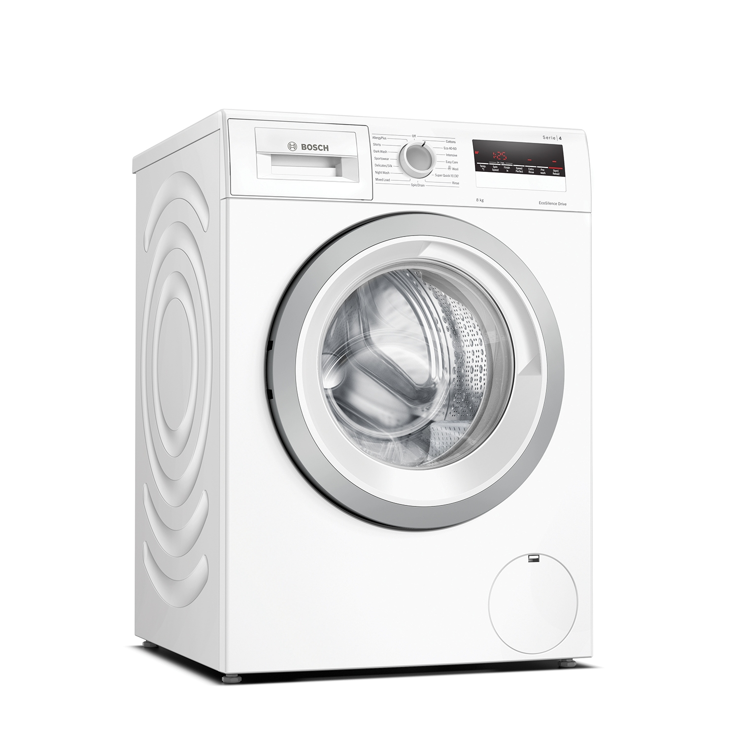 Bosch 8kg 1400 Spin Washing Machine - White - A+++ Rated - 0