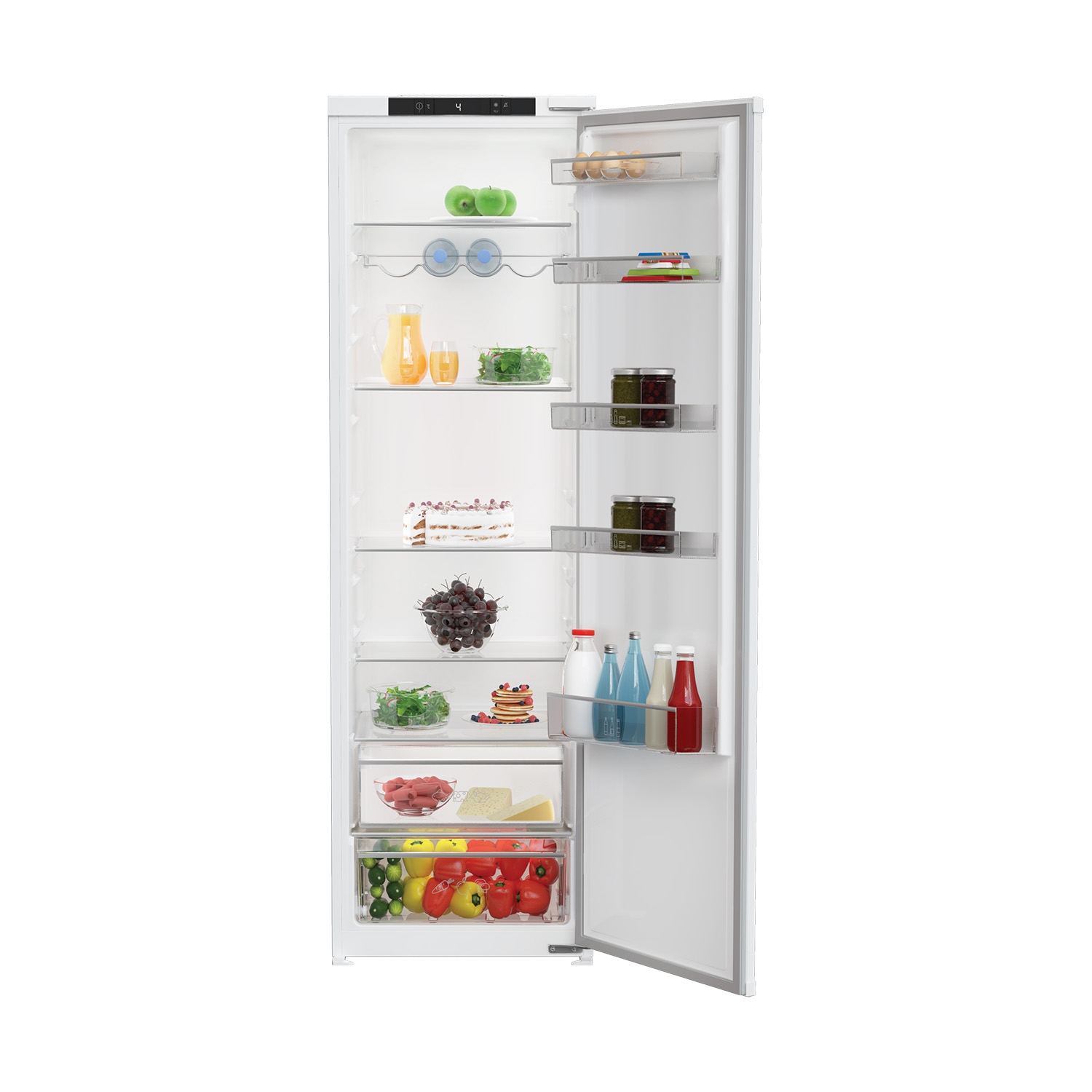 Blomberg Integrated Tall Larder Fridge - A+ Energy Rated - 0