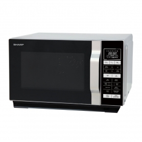 Sharp R860SLM 25 Litre Combination Microwave - Silver