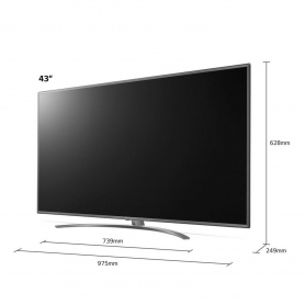 "LG 43"" 4K LED Smart TV - A Energy Rated - 6"