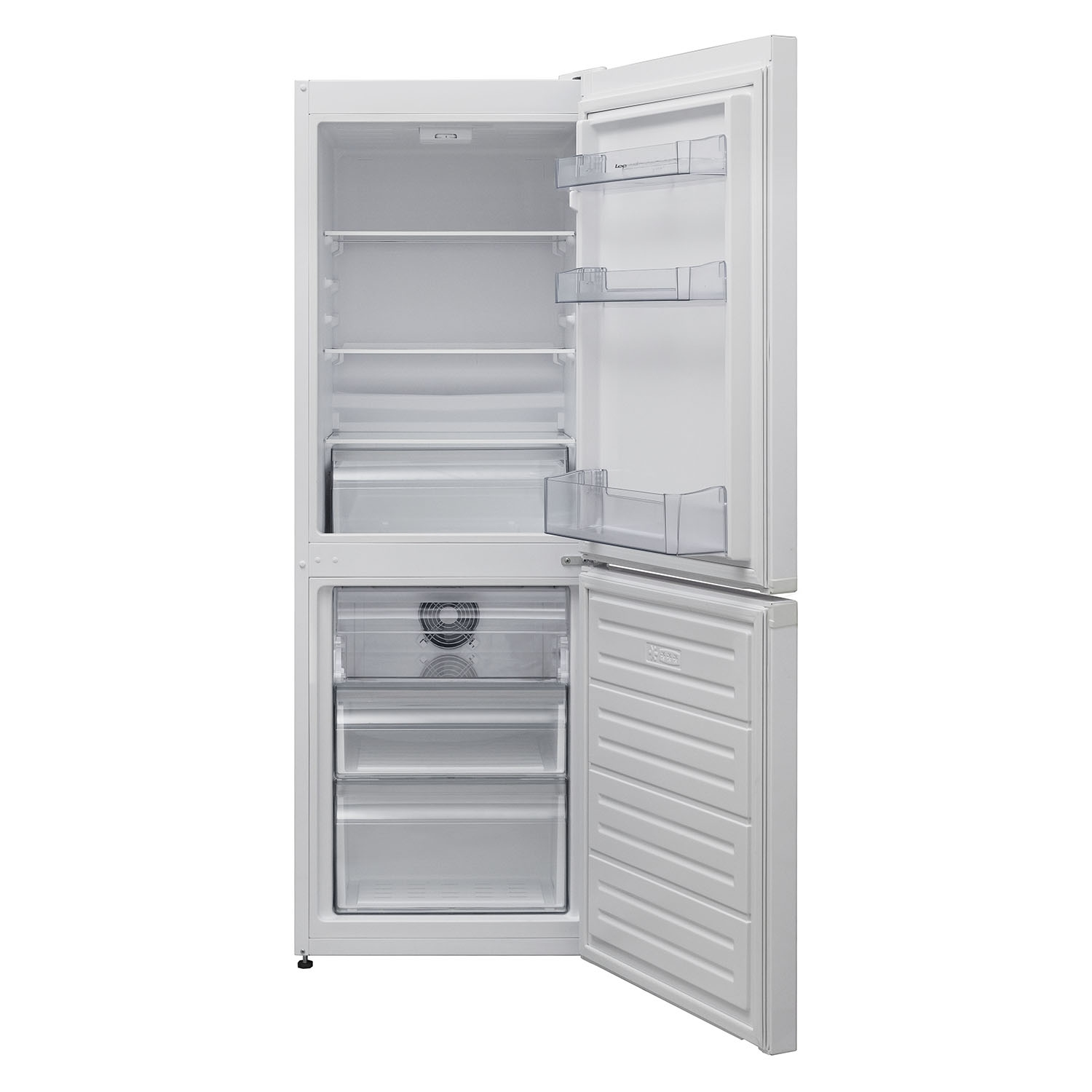 Lec Fridge Freezer - Frost Free - White - A+ Energy Rated - 0