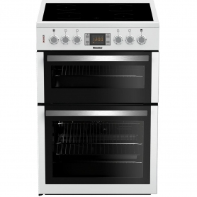 Blomberg 60cm Double Oven Electric Cooker - White - A/A Rated