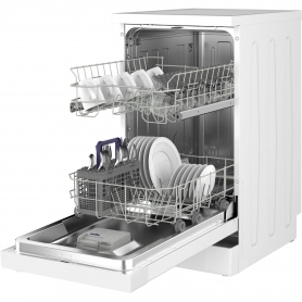 Beko Slimline Dishwasher - White - A+ Rated - 4