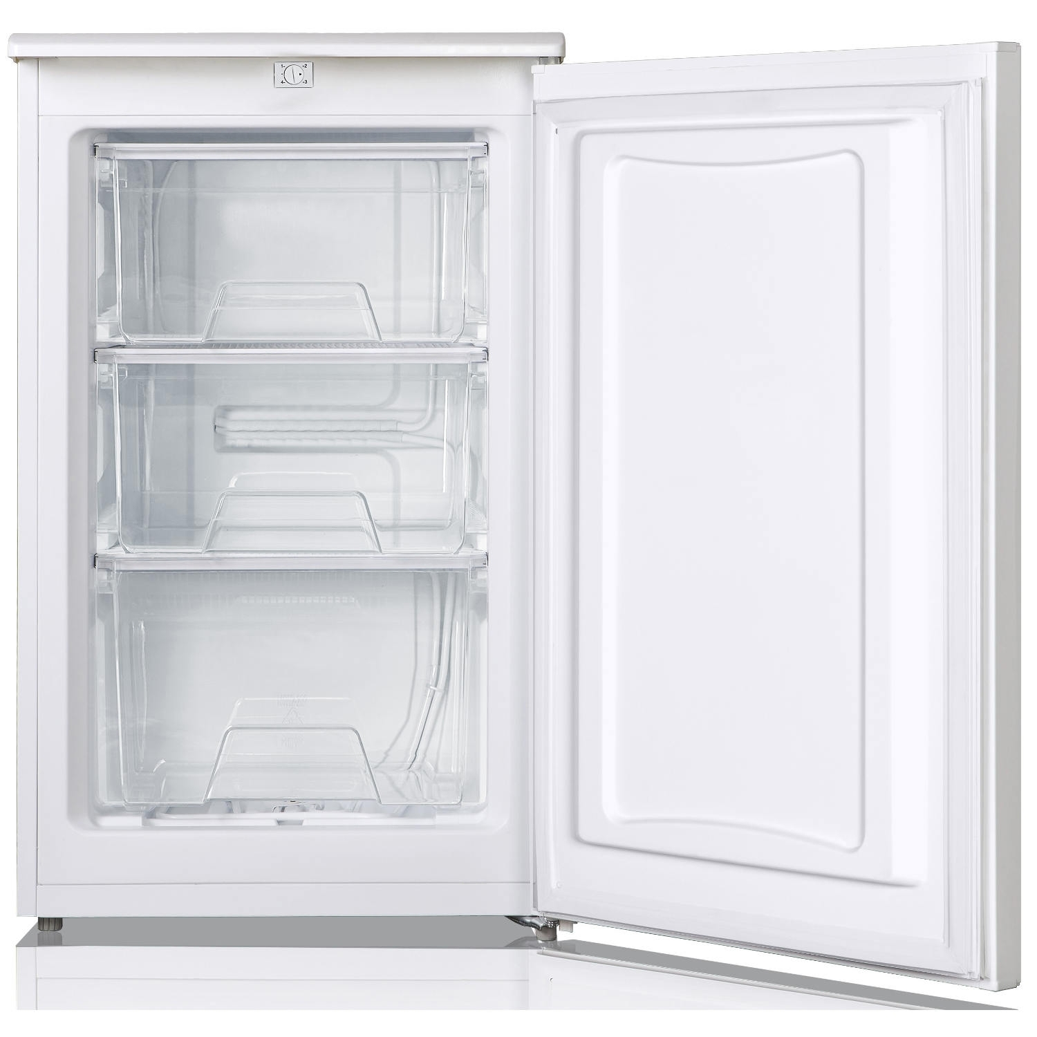 Lec 50cm Undercounter Freezer - White - A+ Rated - 1