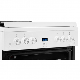 Beko 60cm Gas Cooker with Glass Lid - 6