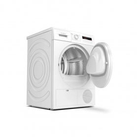 Bosch 8kg Heat Pump Tumble Dryer - White - A+ Energy Rated - 3