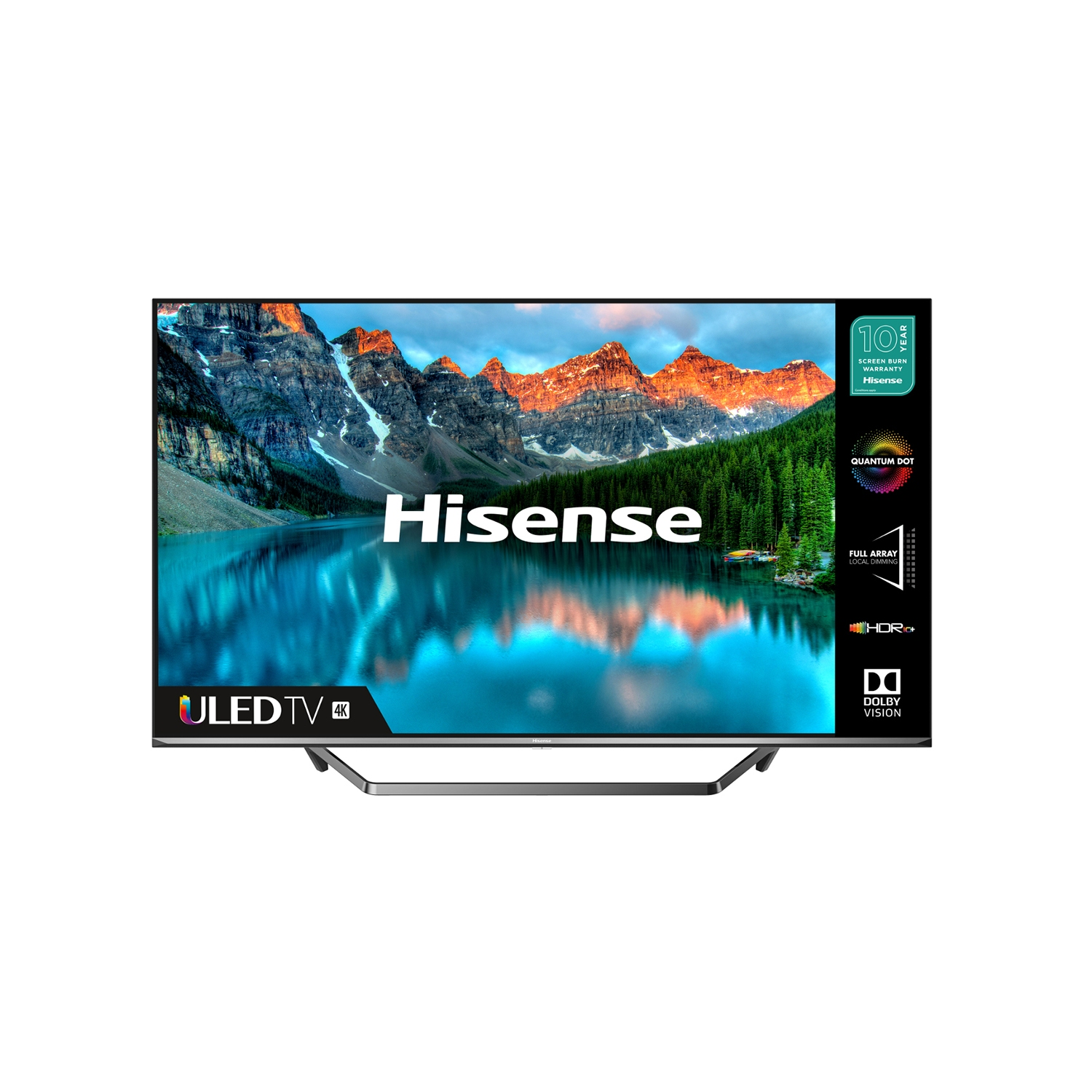 "Hisense 50U7QFTUK 50"" 4K Ultra HD LED Smart TV with Dolby Atmos & Dolby Vision - 0"