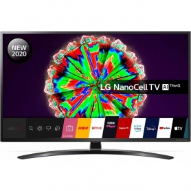 "LG 55"" 4K Ultra HD HDR10 NanoCell Smart TV with Google Assistant & Alexa"
