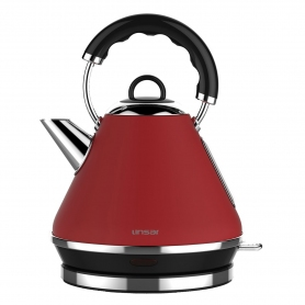Linsar 1.7 Litre Pyramid Kettle - Red