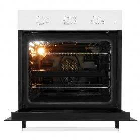 Beko Built In Electric Single Oven - White - A Rated - 1