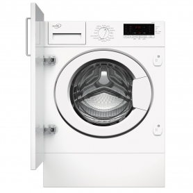 Zenith Built In 7kg 1200 Spin Washing Machine - White - A+++ Energy Rated