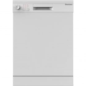 Blomberg LDF30210W Full Size Dishwasher - White - 14 Place Settings