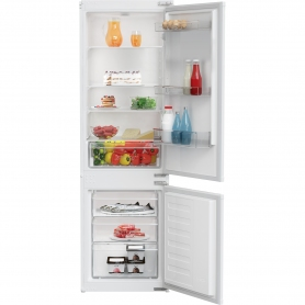 Zenith ZICSD373 Built in Fridge Freezer - White - Static