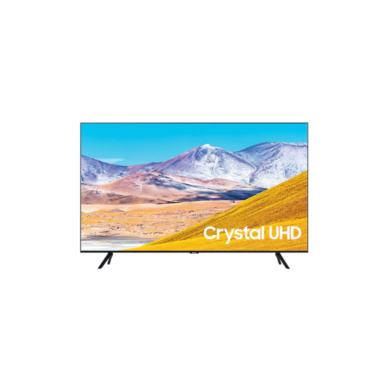 "Samsung 55"" 4K Ultra HD LED Smart TV with Crystal Display & Boundless Design - 0"
