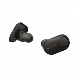 Sony Wireless In Ear Noise Cancelling Headphones - Black