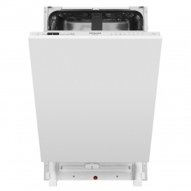 Hotpoint Integrated Slimline Dishwasher - Stainless Steel - 10 Place Settings