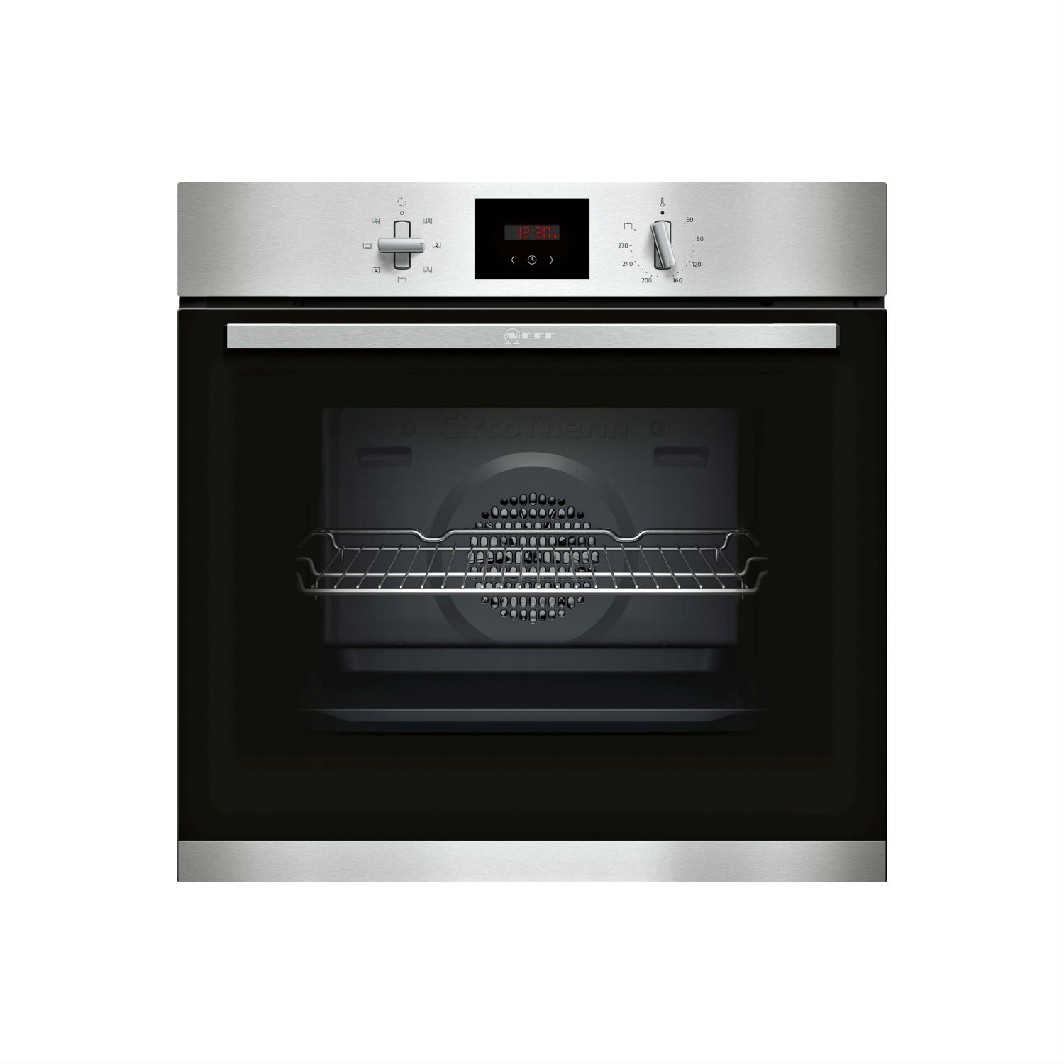 Neff Built In Electric Single Oven - Stainless Steel - A Energy Rated - 0