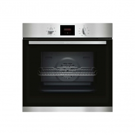 Neff B1GCC0AN0B 56cm Built In Electric Single Oven - Stainless Steel