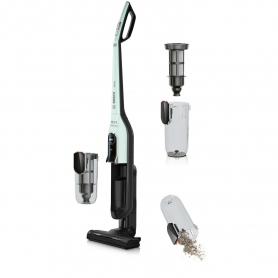 Bosch AllFloor Brush Bagless Stick Vacuum Cleaner - Pastel Turquoise - 1