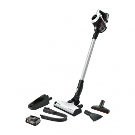 Bosch Unlimited Serie 6 ProHome Cordless Vacuum Cleaner - White - 30 Minute Run Time