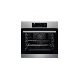 AEG Built In Electric Steam Bake Single Oven - Stainless Steel - A Energy Rated