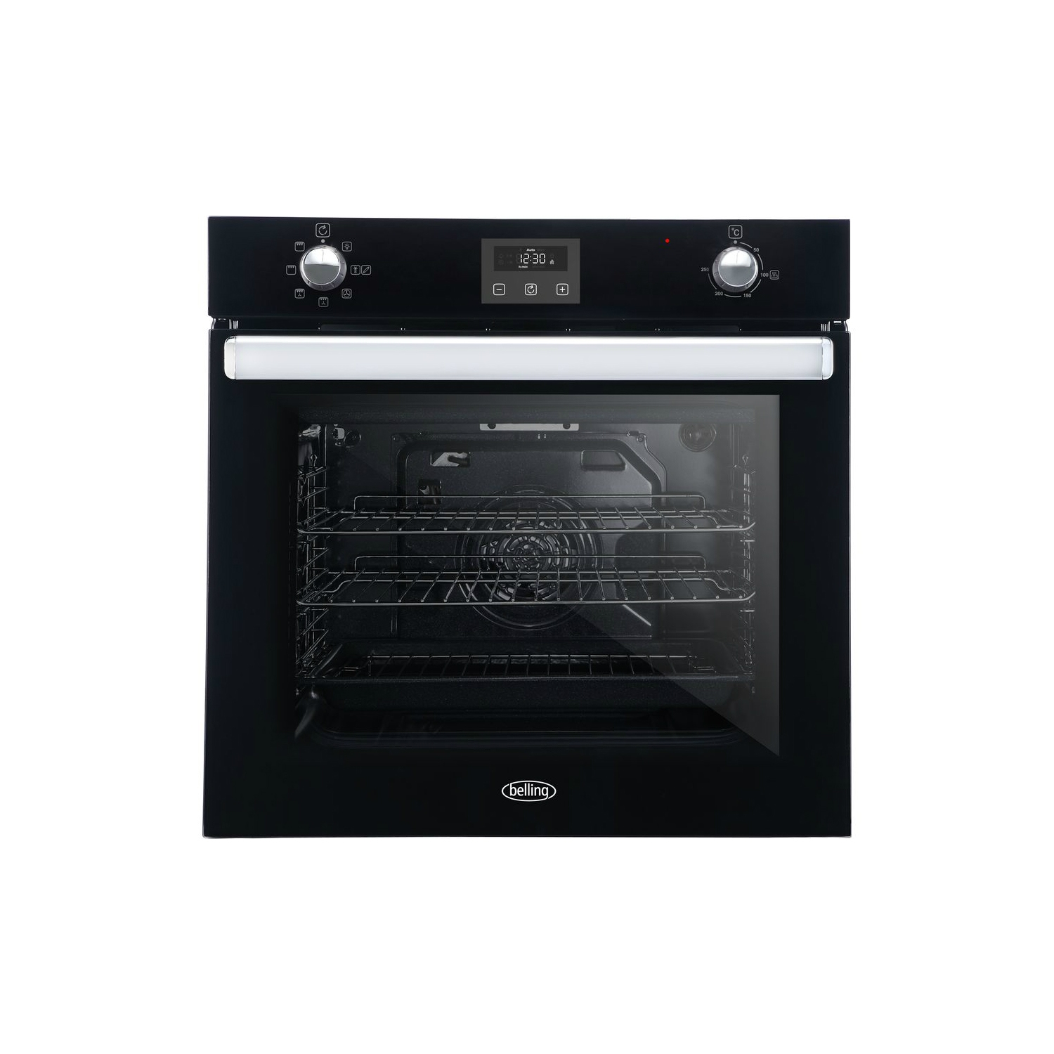 Belling Built In Electric Single Oven - Black - 0