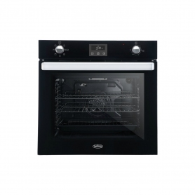 Belling BI602FPCTBLK 60cm Built In Electric Single Oven - Black